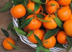 мандарини користь