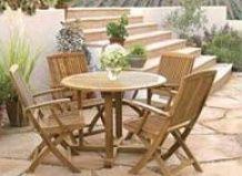 Меблі на садовій ділянці - є варіанти!