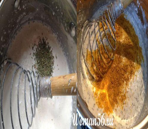 вершковий соус приготування