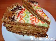 Медовий торт рецепт з фото