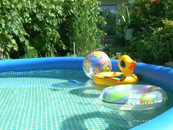 Надувні басейни: вибір і використання