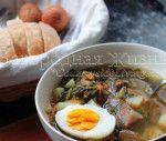 Щавлевий суп з яйцем (зелений борщ), рецепт і фото