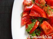 Овочевий салат з соєвим соусом