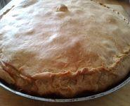Пиріг з качкою і картоплею рецепт з фото