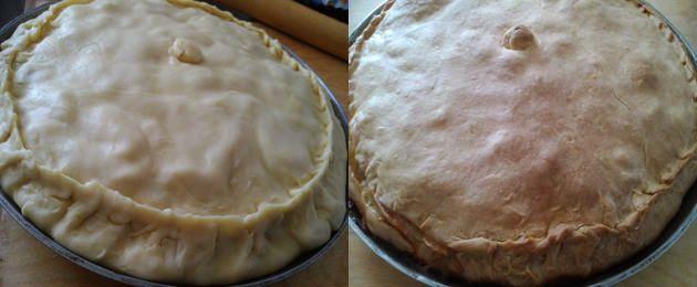готовий пиріг з гусаком