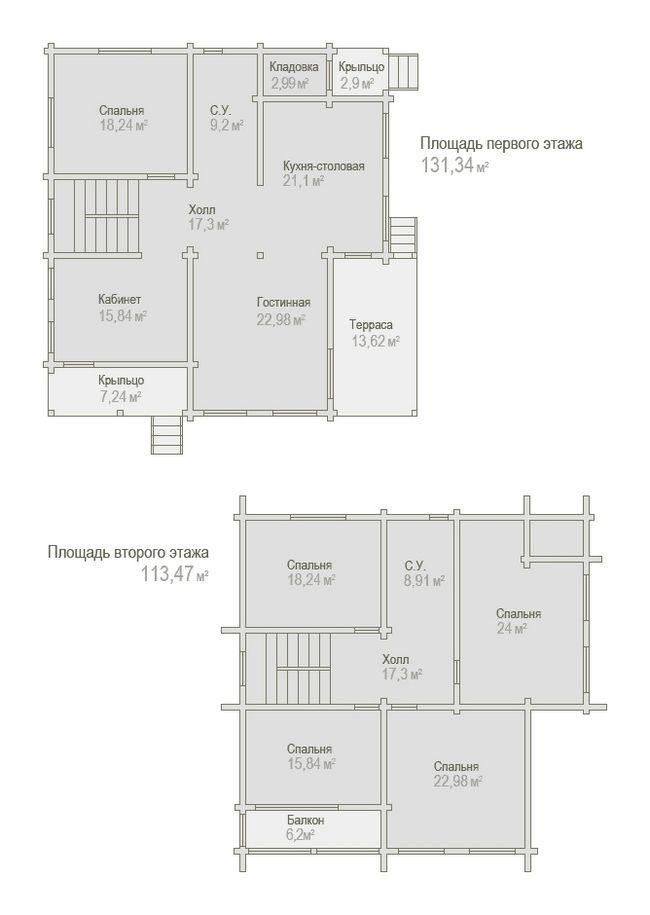 Креслення будинку 8x8