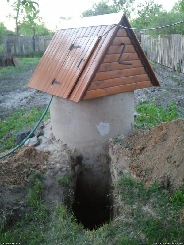 Підведення води з колодязя за допомогою насосної станції