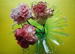 Практичні вази з пластикових пляшок