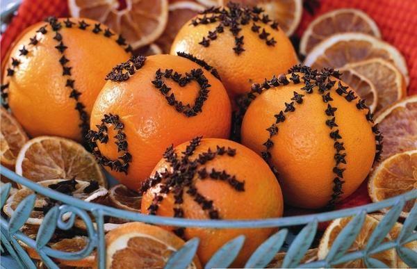 Свято! Чи відчуваєте? - апельсиновий декор до нового року