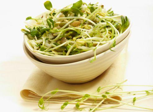 проросткі- салат з капусти з проростками
