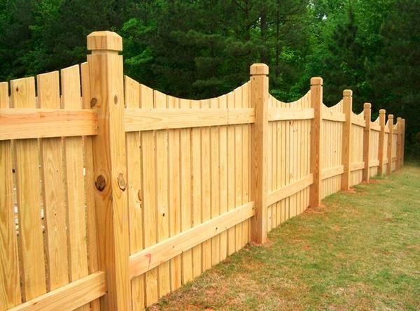 Проза життя: дерев`яний паркан своїми руками