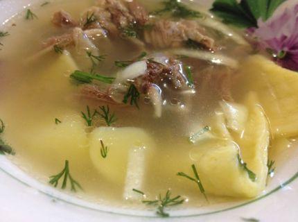 Рецепт супу з півня