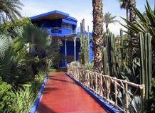 Сад мажореля - jardin majorelle (марокко, г марракеш