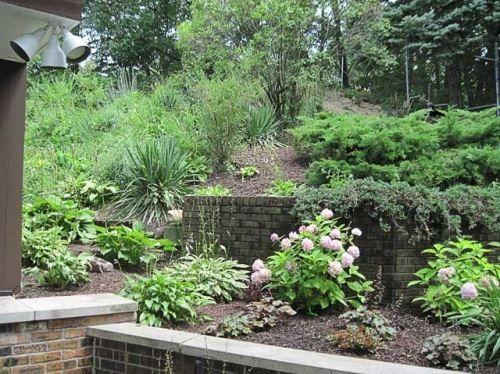 Садовий дизайн в стилі giardino segreto