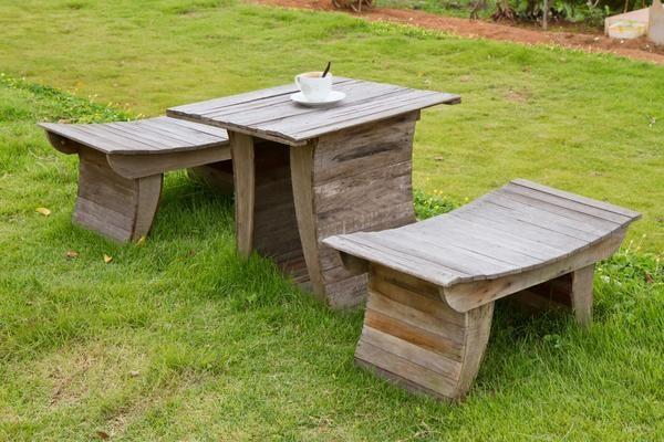 Садові меблі з дерева своїми руками