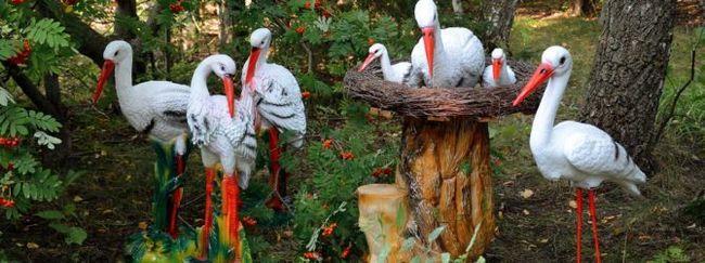 Садові аксесуари і скульптури