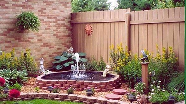 Садові фонтани