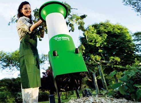 Садові подрібнювачі - сучасне рішення