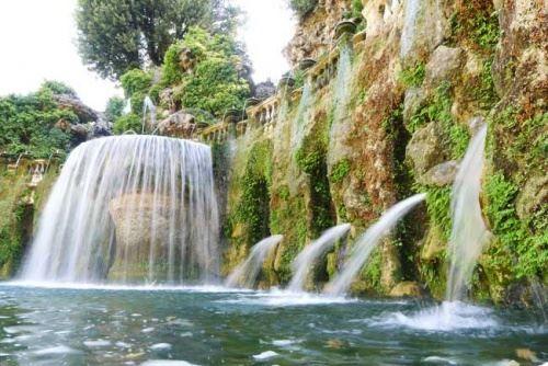 Сади вілли д & amp; rsquo-Есте, фонтани і водоймища