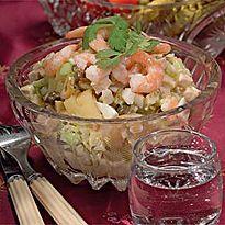 Салат олів`є c гострим майонезом