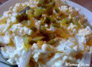 Салат з кальмарами - рецепт з фото