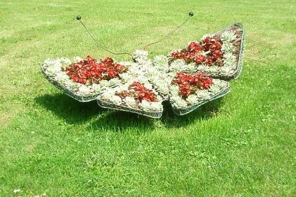 Самі незвичайні ідеї для садових клумб