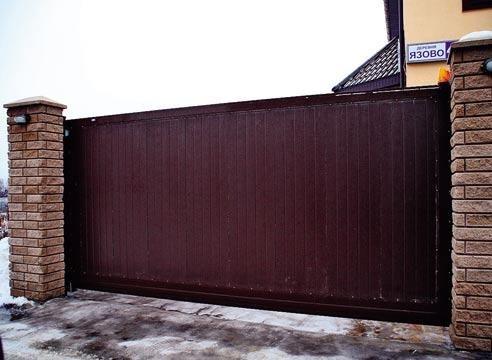Зсувні ворота