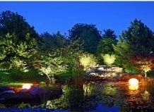 Сяйво саду в темряві