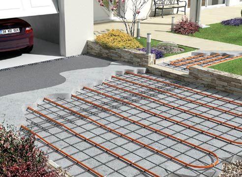 Системи обігріву двору