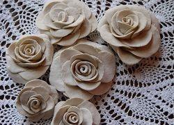 Солоне тісто для створення троянд: інструкція по ліпленню