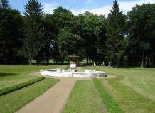 Старовинний парк в селі самчики