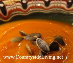 Суп з гарбуза (гарбузовий суп-пюре, крем-суп) зі спеціями. Рецепт, як приготувати