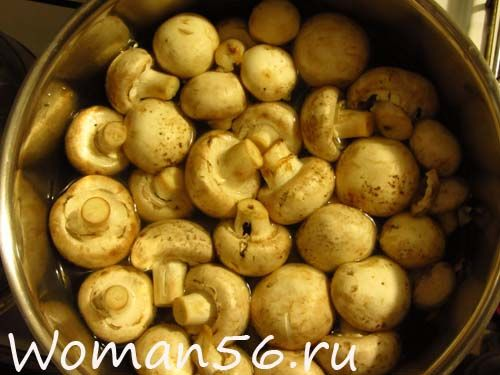Суп з грибами