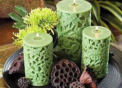 Свічки з ароматами квітів в домашніх умовах