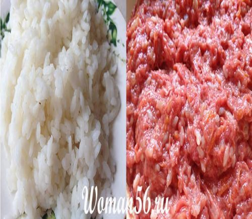 Рис для фаршу
