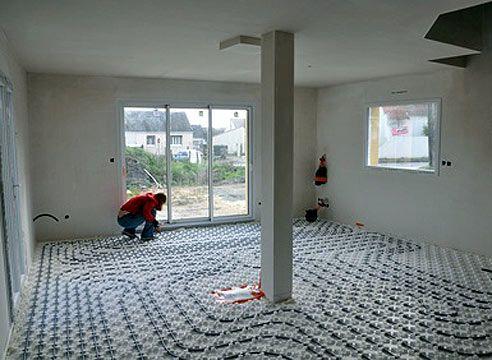 В якій кімнаті робити тепла підлога