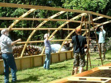 Процес побудови теплиці