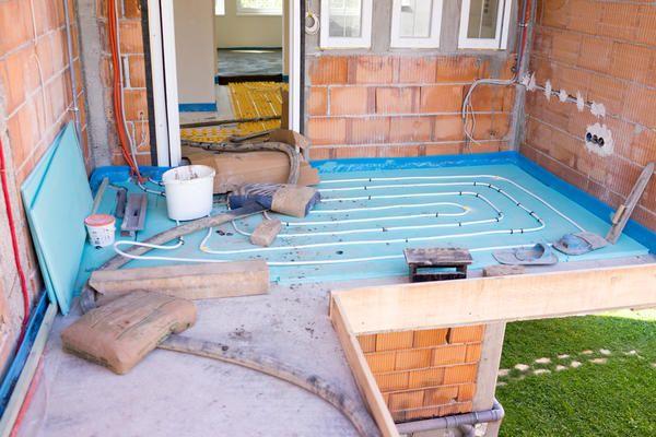 Тепла підлога для заміського будинку