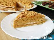 Торт медовик рецепт з фото