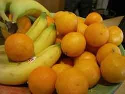 Цитрусові і банани