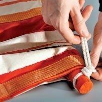 кріпимо мотузки