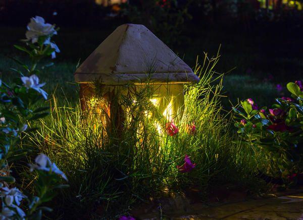 Вуличне освітлення дачного будинку