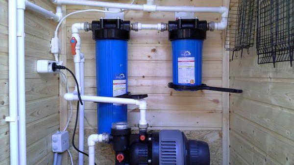 Приміщення для водопостачання гарячої та холодної води