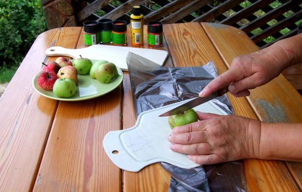 ріжемо яблука