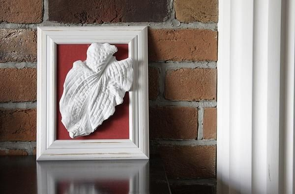Гіпсовий лист-панно. Фото: http://craftsouz.livejournal.com