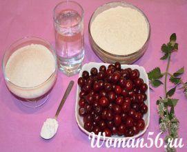 Вареники з вишнею рецепт з фото