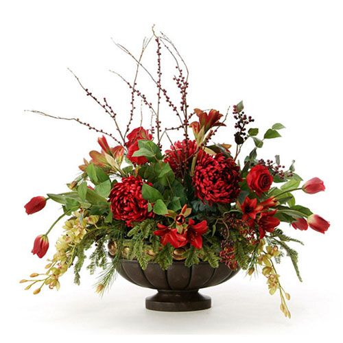 Весняні композиції з штучних квітів своїми руками