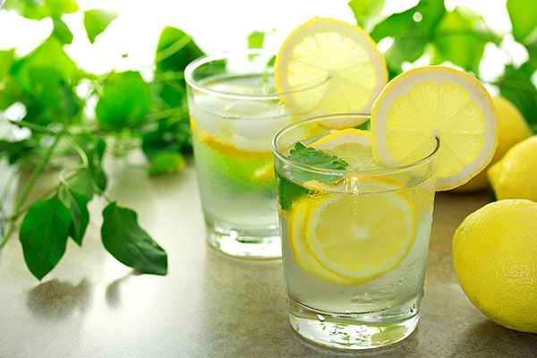 Вода з лимоном натщесерце