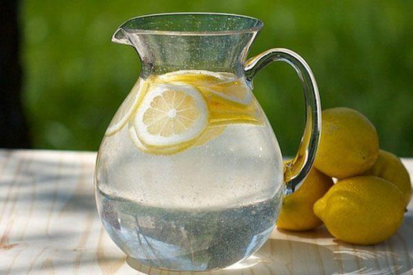 Приготування лимонної води