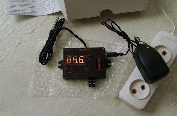 Вибір терморегулятора для домашнього інкубатора